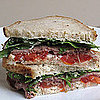 Photo Gallery: Roast Beef Sandwiches with Tomato, Arugula, and Chive Cream