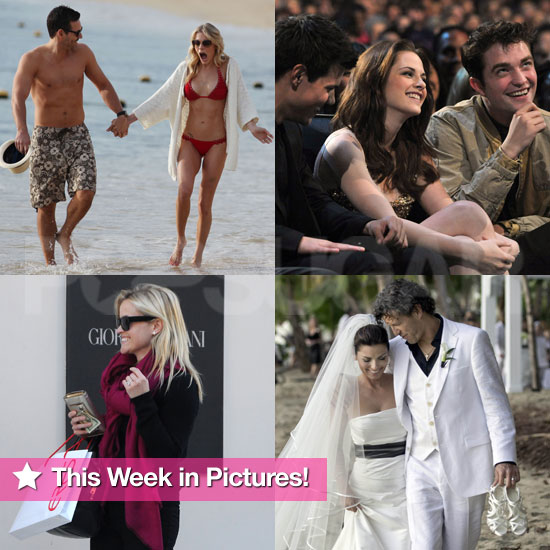 Rob and Kristen, Shania's Wedding, LeAnn Bikini, and More in This Week in Pictures!
