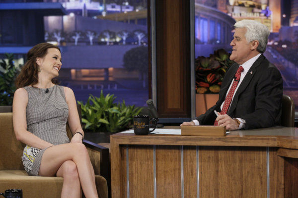 Leighton Takes Off Following Her Tonight Show and People's Choice Appearances