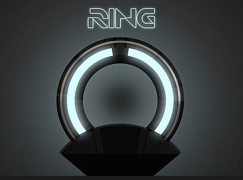 Pictures of the Ring Tron Lamp