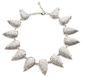 Smashed Talon Necklace ($1,208)