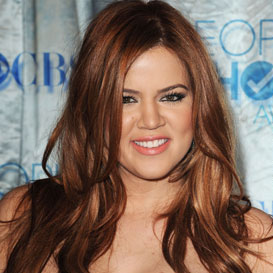 Khloe Kardashian Red Hair