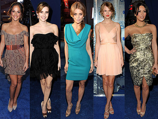 We kicked off the 2011 award season with the fabulous fashion from the People's Choice Awards.