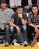 Pictures of Tom Hardy At the Lakers Game