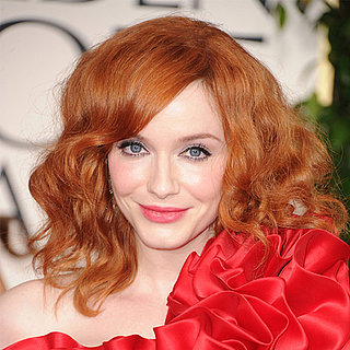 Christina Hendricks's Golden Globes Hair and Makeup