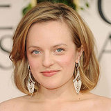 Elisabeth Moss at 2011 Golden Globes