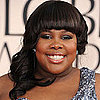 Amber Riley at 2011 Golden Globes