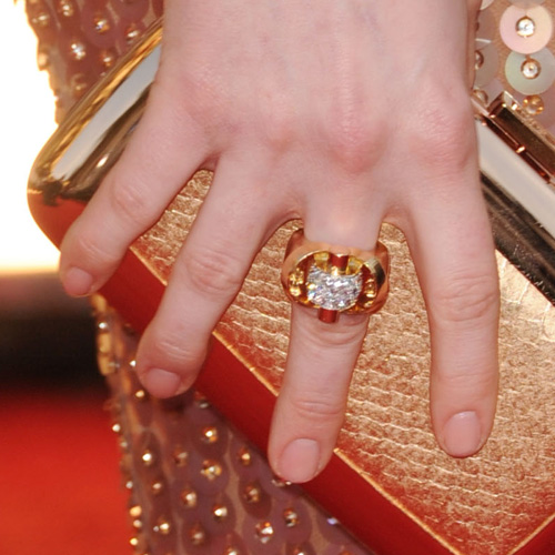 Celebs Went With Nude Nails For the Golden Globes in 2011
