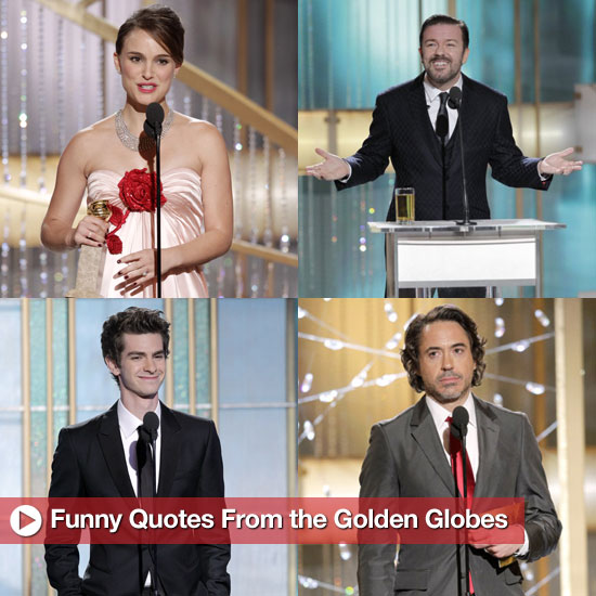 Best Quotes From 2011 Golden Globes Show