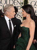 Catherine Zeta-Jones and Michael Douglas Hit the Red Carpet Hand in Hand