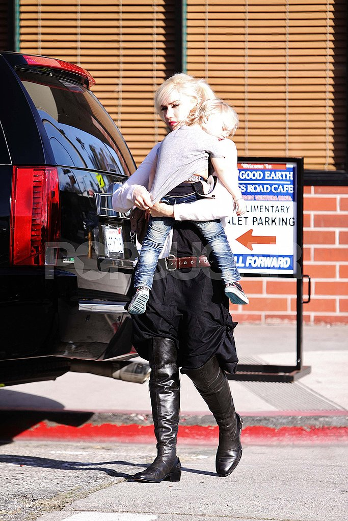 Gwen Stefani Takes a Break From Music to Hang With Her Love and Babies