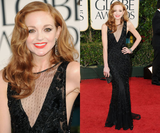 Jayma Mays at 2011 Golden Globe Awards 2011-01-16 15:42:23