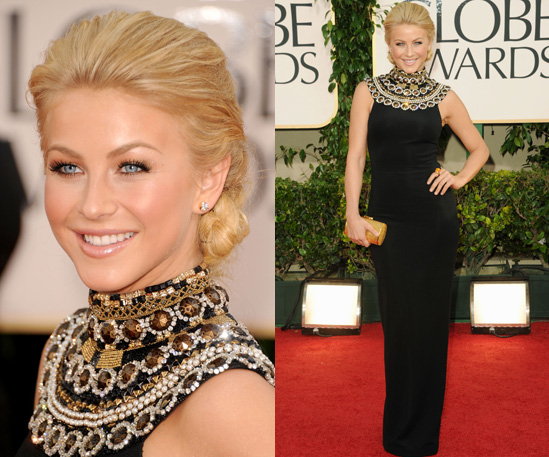 Julianne Hough at 2011 Golden Globe Awards