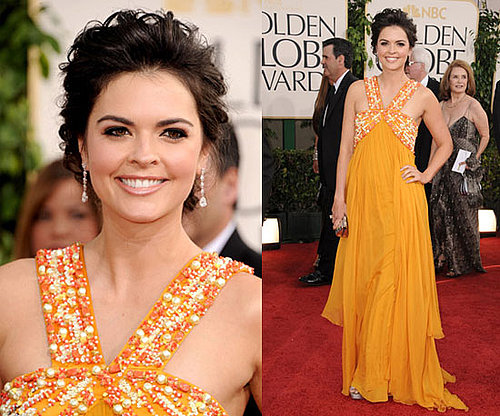 Katie Lee at 2011 Golden Globe Awards