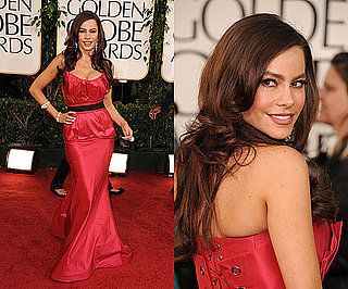Sofia Vergara at 2011 Golden Globe Awards