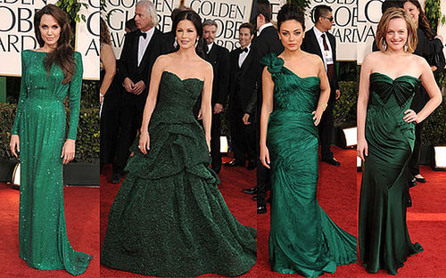 Trend Alert! Green Dresses at the 2011 Golden Globe Awards