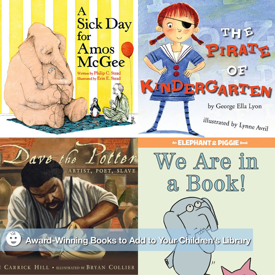 Award-Winning Books to Add to Your Children's Library