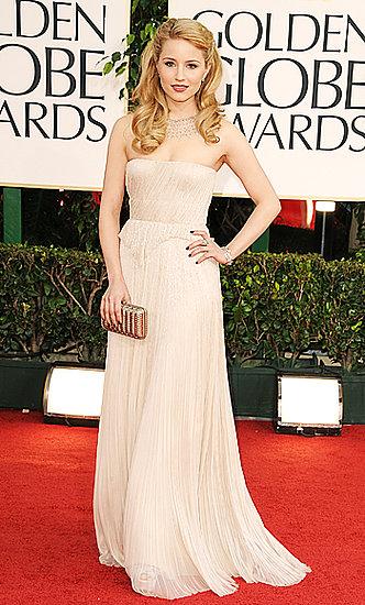 Dianna Agron(2011 Golden Globes)