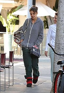 Pictures of Katie Holmes Indulging Her Sweet Side in Beverly Hills