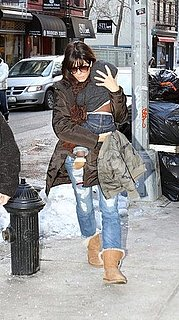 Pictures of Sandra Bullock With Louis in NYC