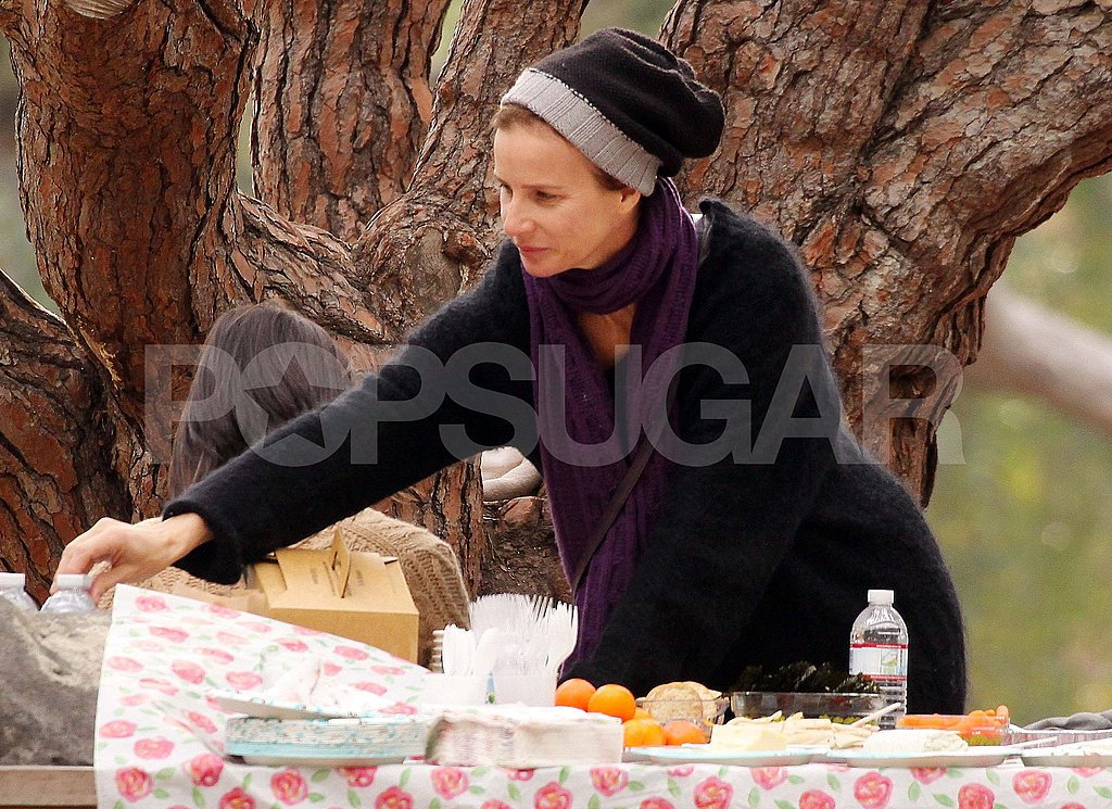Rachel Griffiths Parties at a Park With Her Adorable Kids