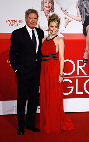 Pictures of Rachel McAdams at the Berlin Morning Glory Premiere in Michael Kors With Harrison Ford 2011-01-10 08:56:24