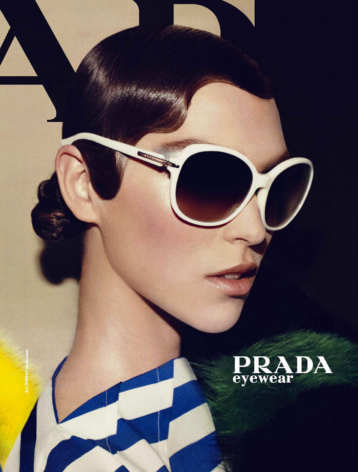 Arizona Muse For Prada Eyewear