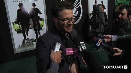 Video of Seth Rogen Saying His Fiancee Thought He Was a D-Bag in The Green Hornet