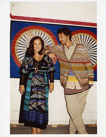 Angela and Francesco Maccapani Missoni for Missoni, by Juergen Teller