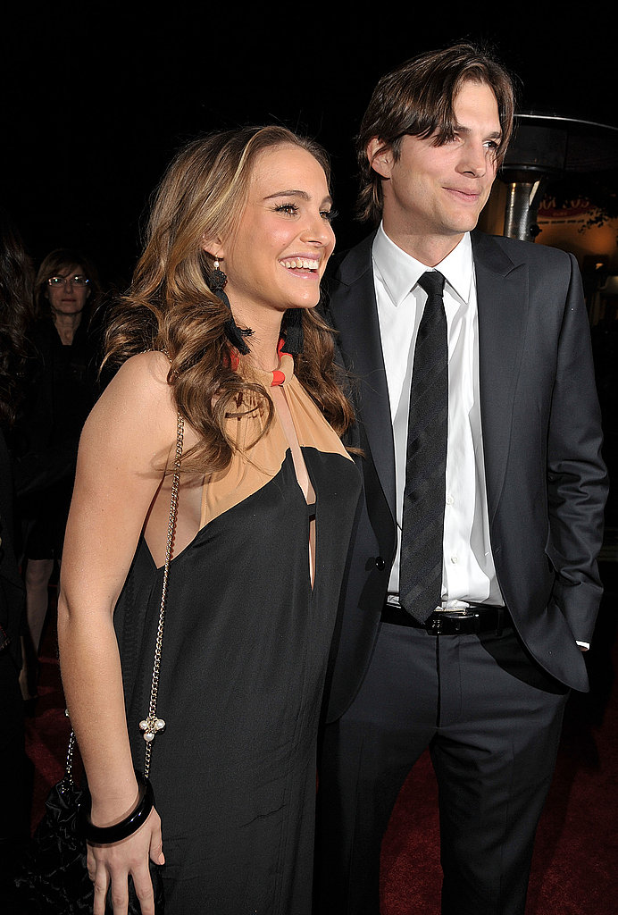Pregnant Natalie Portman Picks a Peephole Dress For No Strings Attached Premiere