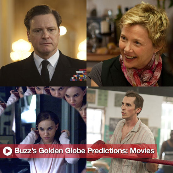2011 Golden Globe Predictions