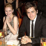 Kirsten Dunst and Jake Gyllenhaal kept close at the 2003 show.