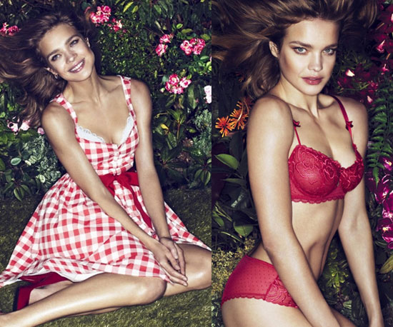 Natalia Vodianova Gets Preppy Then Sexy For Etam Spring '11