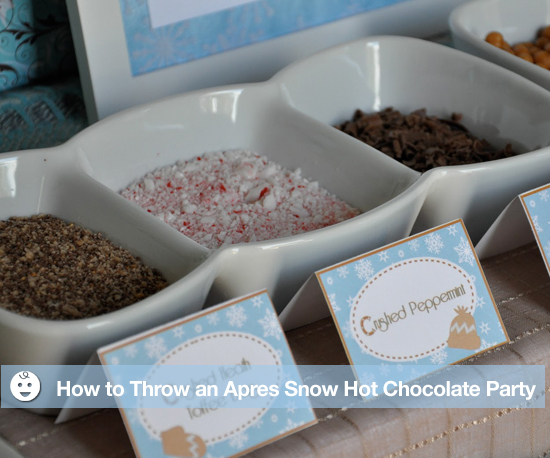How to Throw an Après Snow Hot Chocolate Party