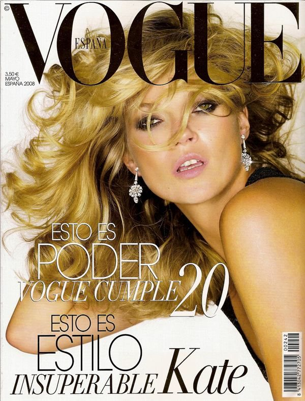 May 2008: Vogue Magazine Spain