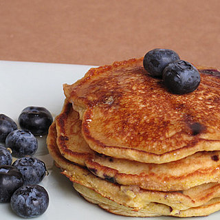 Healthy and Easy Recipe For Blueberry Cornmeal Griddle Cakes