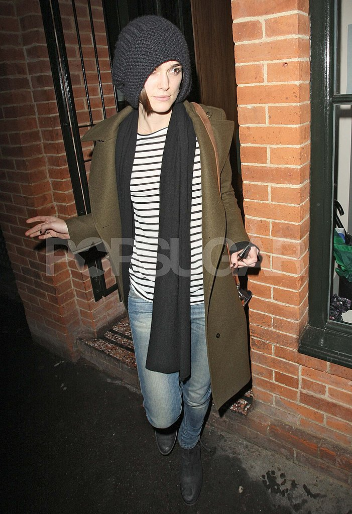 Sienna Miller Gives Newly Single Keira Knightley a Shoulder to Lean on at Dinner