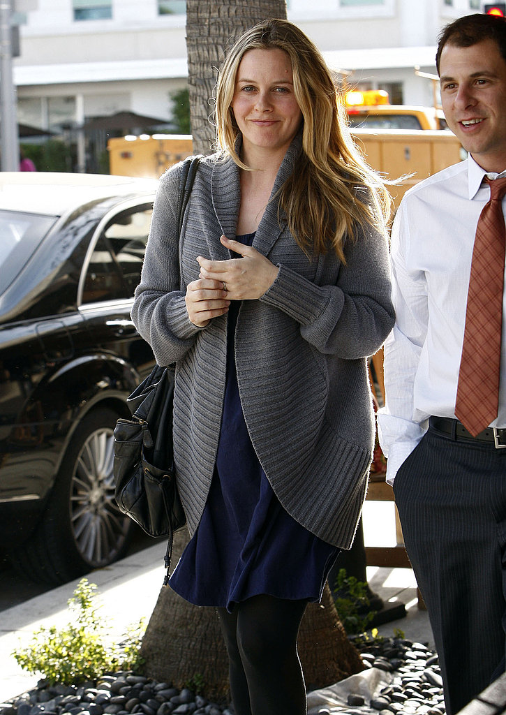 Alicia Silverstone Announces Her Pregnancy and Steps Out With a Bump!