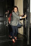 Eva Longoria Keeps Her Kisses in the Family