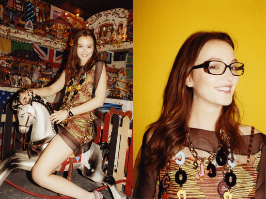 In case you missed it, Leighton Meester is the new face of Missoni.