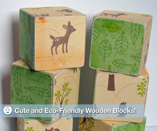 Eco-Friendly Blocks Can Really Stack Up