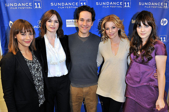 Zooey, Rashida, Elizabeth, and Emily Celebrate Their Idiot Brother Paul Rudd