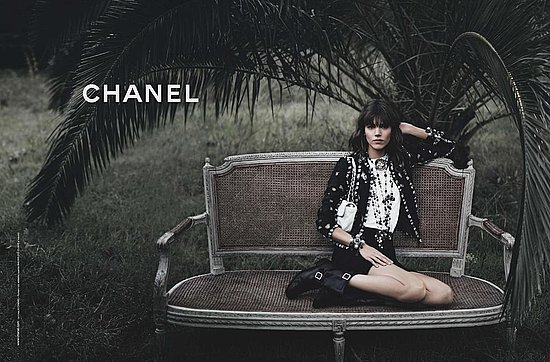 Freja Beha Erichsen for Chanel, by Karl Lagerfeld