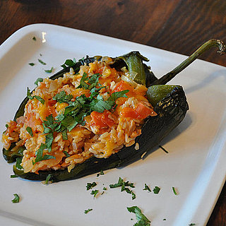 Stuffed Poblano With Chicken and Rice Recipe
