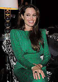 Pictures of Angelina Jolie at Golden Globe Awards Sony Afterparty