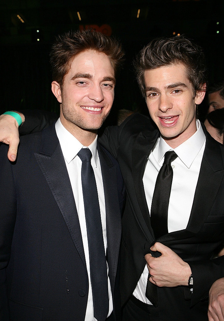 Robert Pattinson Hits Up Globes Afterparties Alongside Twilight Costar Peter Facinelli