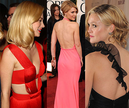 2011 Golden Globe Awards Fashion Details, from Claire Danes, January Jones and More!