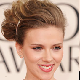 Scarlett Johansson's Hair at the Golden Globe Awards