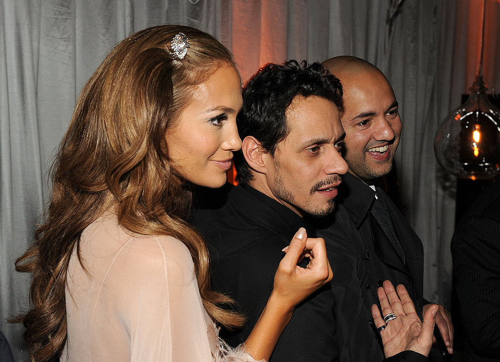 Jennifer Lopez and Marc Antony