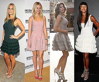 Celebrities Wearing Alaia Including Gwyneth Paltrow, Victoria Beckham and Naomi Campbell